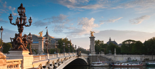 Pont Alexandre III and Grand Palais, Paris