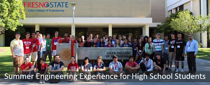Summer Engineering Experience for High School Students