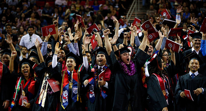107 PHOTOS OF THE 107TH COMMENCEMENT