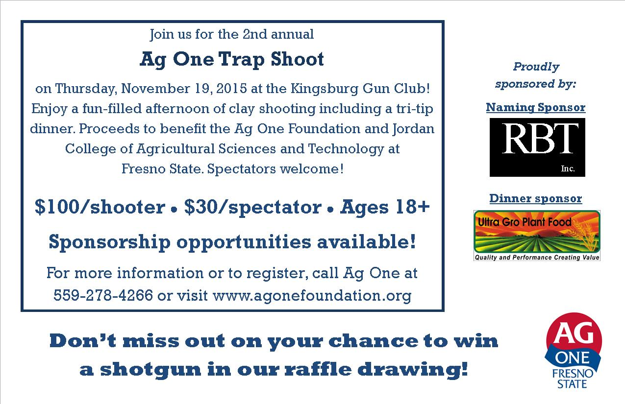 Ag One Trap Shoot