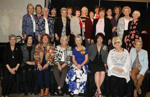 Past Honorees at the 2017 Common Threads Luncheon