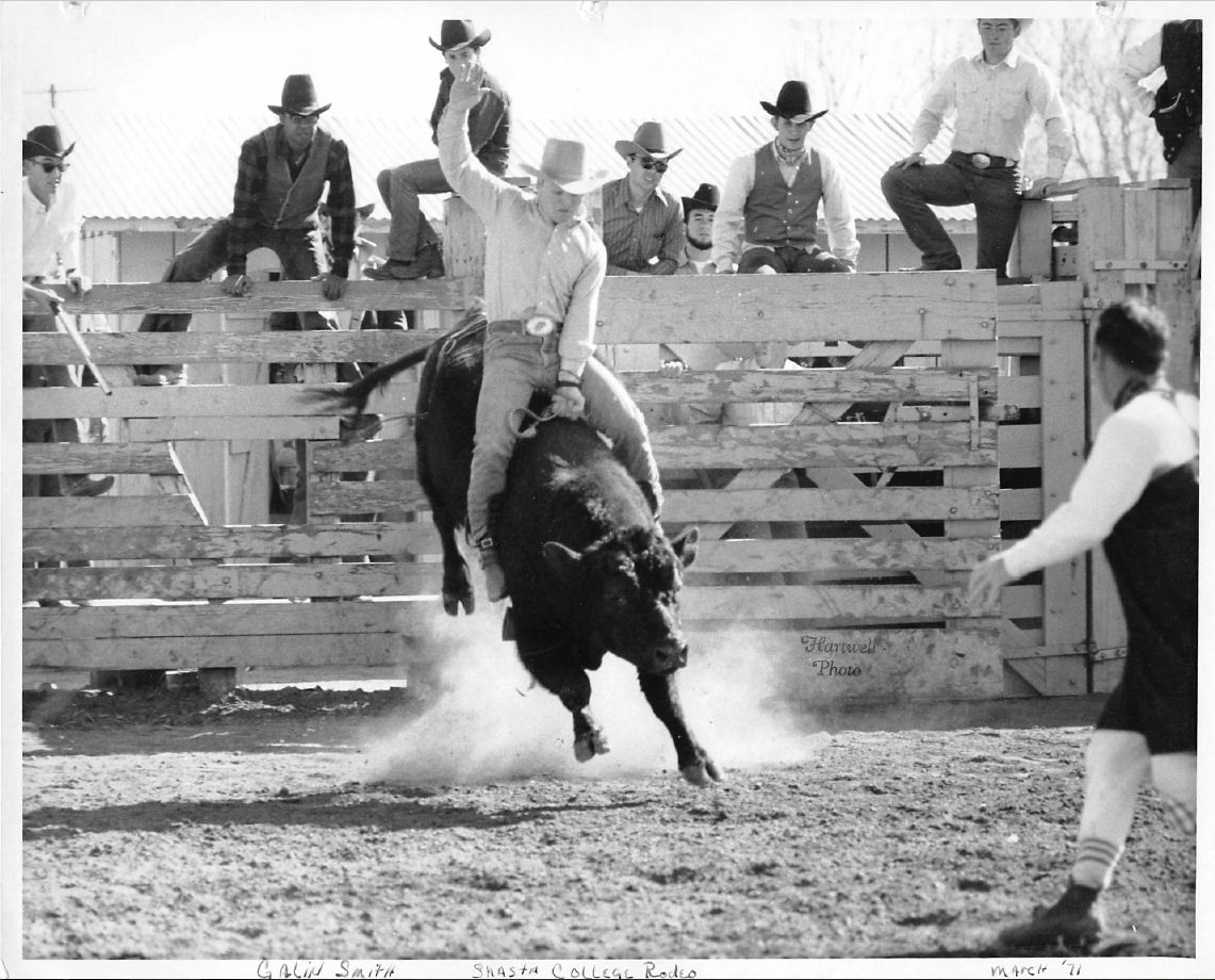 Galen Smith Shasta College Rodeo