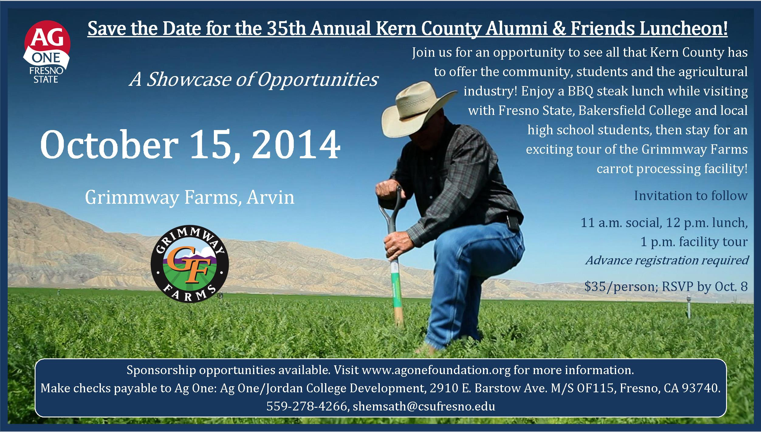 Kern Luncheon Save the Date