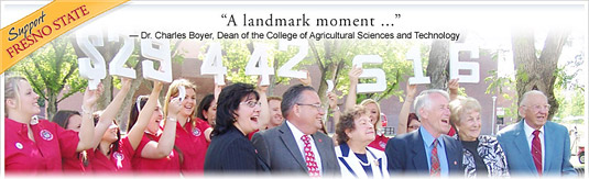 Dee Jordan Donates $29.4 Million to the Jordan College of Agricultural Sciences and Technology