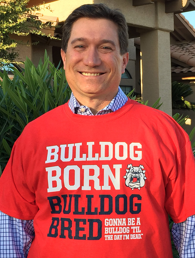 Mark Manfredo, 1992 Fresno State Ag Business graduate