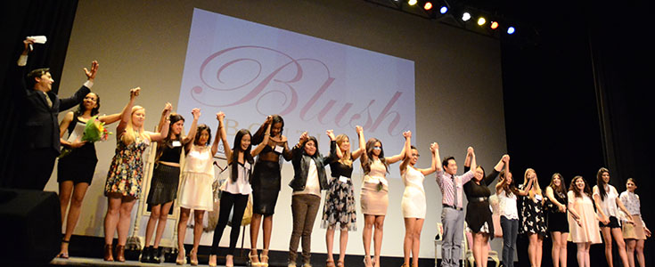 Fashion INC. spring fashion show - 2015 curtain call