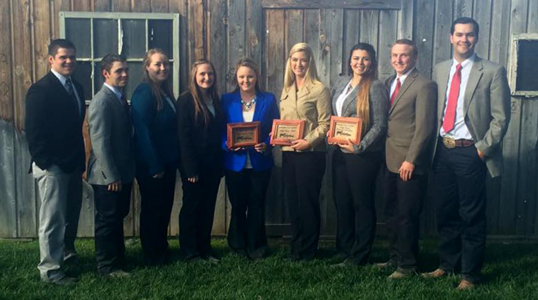 Fall Livestock Judging Team - Medford Oregon season opener