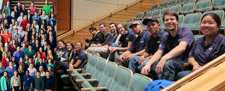 Fall Conferences attended by Fresno State Plant Science and Ag Business students