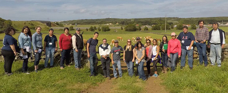 Fresno State students tour agriculture facilities in Azores