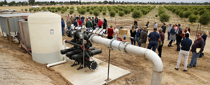 Cal West Rain & Netafim irrigation equipment unveiling