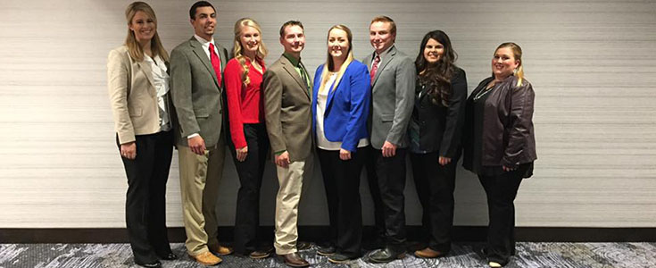 Meat Science Judging Team - Nationals Group Picture