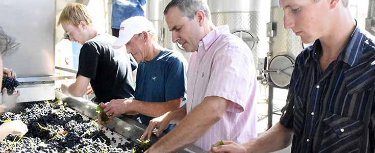 Fresno State winemaker Tom Montgomery