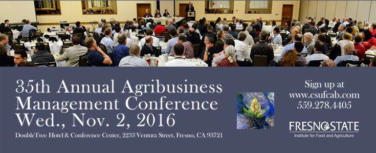 Agribusiness Management Conference 2016 ad