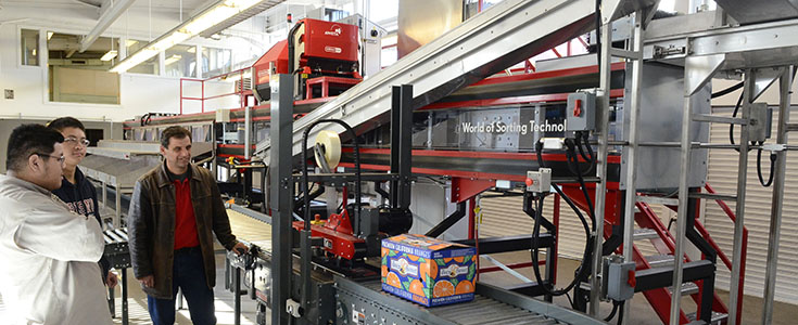 Bee Sweet Citrus Fresh Fruit Packing Line Laboratory