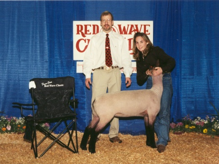 Reserve Grand Champion Lamb 2003