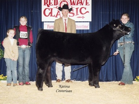 Reserve Grand Champion Steer 2004