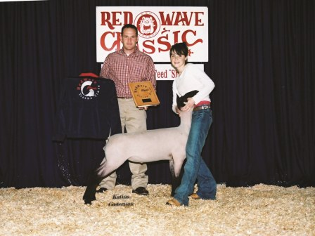 Reserve Grand Champion Lamb 2006