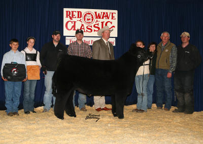 Reserve Grand Champion Steer 2008