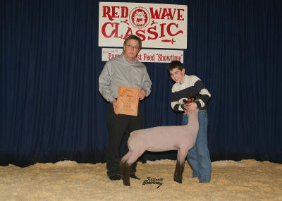 Reserve Grand champion lamb 2008