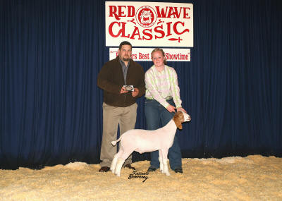 Grand Champion meat Goat 2008