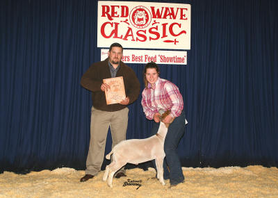 Reserve Grand Champion Meat Goat 2008
