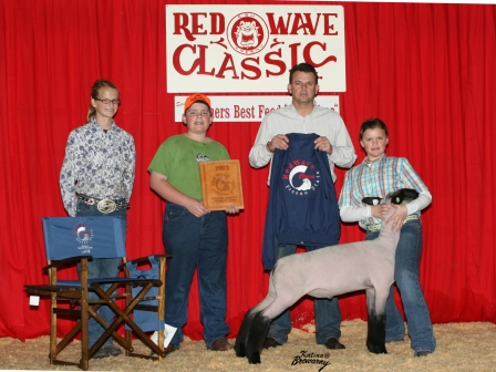 Reserve grand Champion Lamb 2009