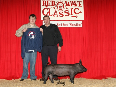 Reserve Grand Champion Hog 2009