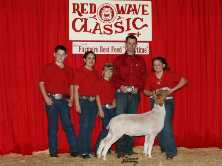 Grand Champion Meat Goat 2009