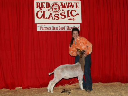 Reserve Grand Meat Goat Champion 2009