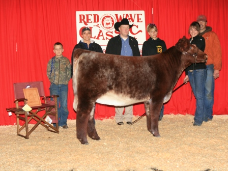 Reserve Grand Champion Heifer 2010