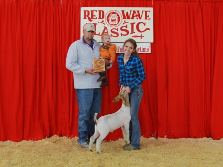 Reserve Grand Champion Meat Goat 2012