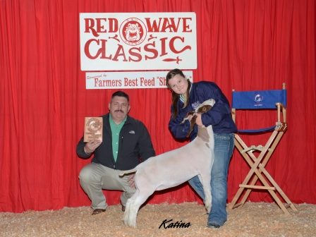 Reserve Grand Champion Meat Goat