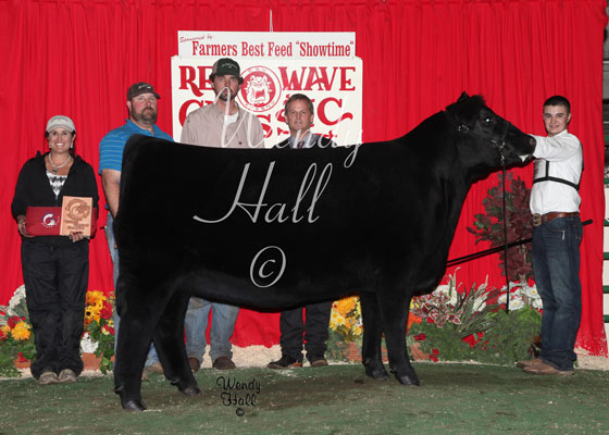 Reserve Grand champion Heifer 2014