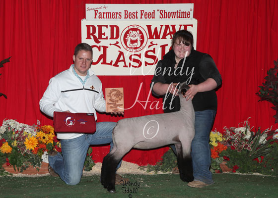 Reserve Grand Champion Lamb 2014