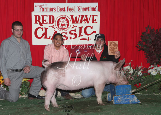 Reserve Grand Champion Hog 2014