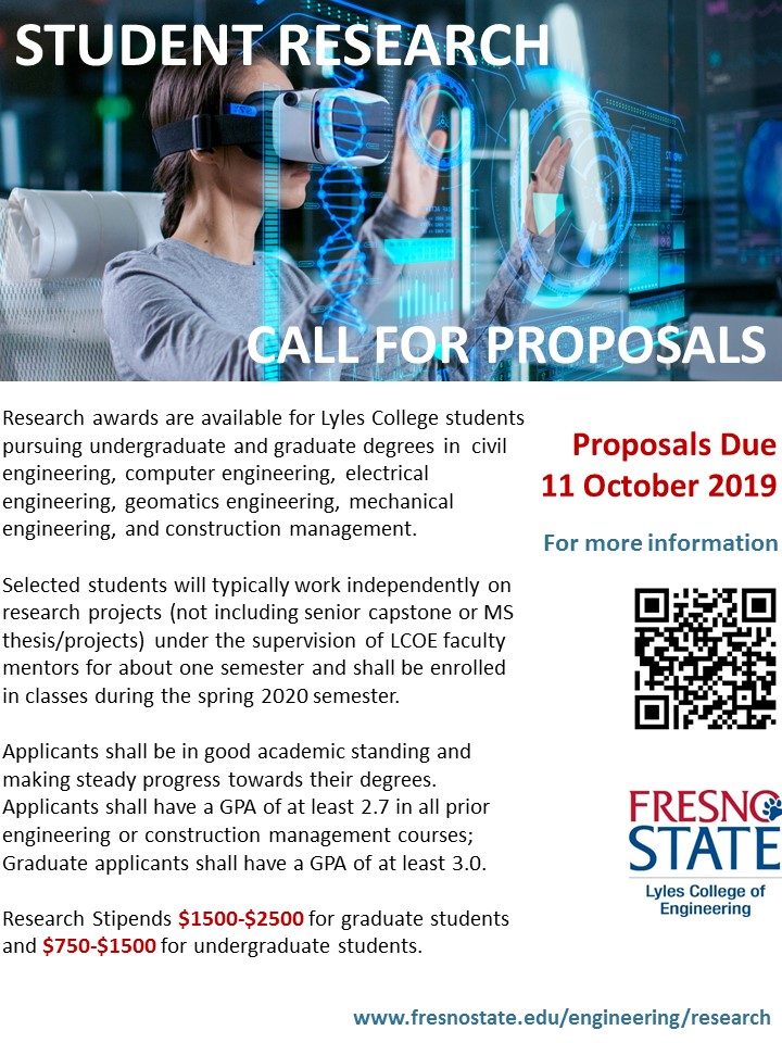 Research Opportunity Flyer
