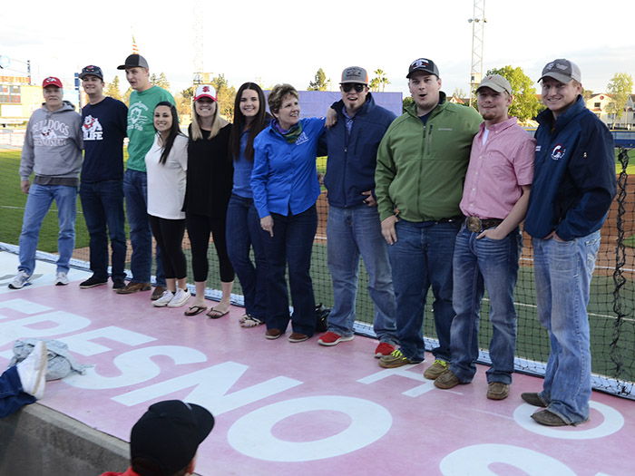 AgFest Baseball Game & Ag Business students