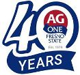 Ag One 40th logo