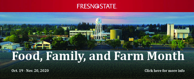 Food, Family & Farm Month Banner