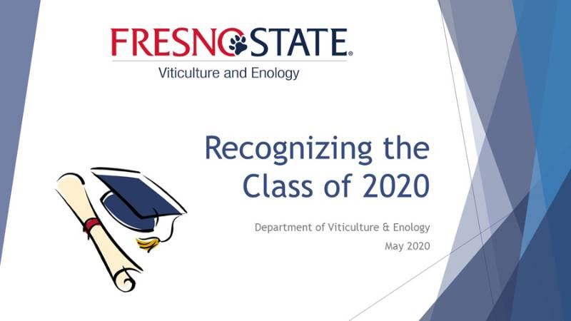 Class of 2020 Recognition Presentation Intro Image