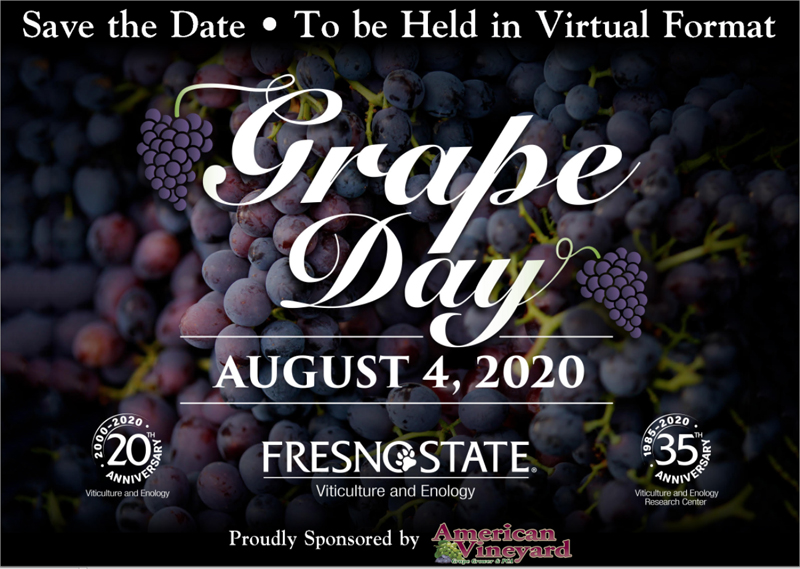 Grape Day Save the Date Postcard